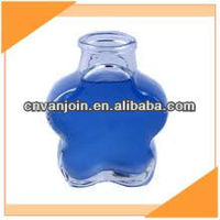 Plum Blossom Shape Glass Reed Diffuser Bottle