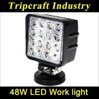 10pcs/lot! 2015 newly sale !!! 48W LED WORKING LIGHT for trucks car led light bar
