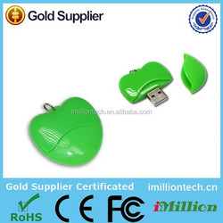 Wholesale Free sample High speed Fruits and vegetables usb flash drive for Promotional gifts