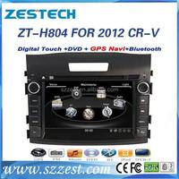 ZESTECH OEM Radio Factory car radio GPS autoradio audio dvd gps navigation for Honda CRV 2012