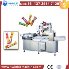 Alibaba China Supplier Ball Lollipop Pillow Wrapping Packing Machine