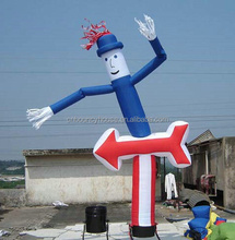 Cheap inflatable air dancer,inflatable advertising uncle sam air dancer