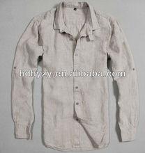 suelto y cómodo camisas de lino de venta al por mayor