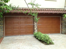 Aluminium automatic garage door, garage rolling door