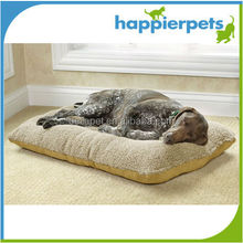 Warm Soft Plush Fabric pet dog mats with vintage style