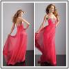 Red Off Shoulder Floor Length Custom Made Long Prom Evening Dresses Vestido De Fiesta PD123 western party wear dresses