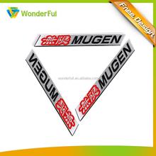 Wholesale Promotion Cheap Item Custom Machine Adhesive Use Enamel Logo Aluminum Plate Car Badge Auto Emblem