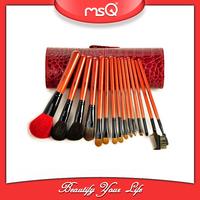MSQ 16pcs Natural Hair High Quality Makeup Wholesale Hair Brushes
