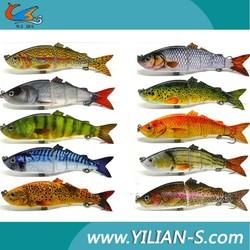 muliti-setions fishing tackle, sport fishing, fishing lure