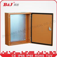 IP66 outdoor steel panel box