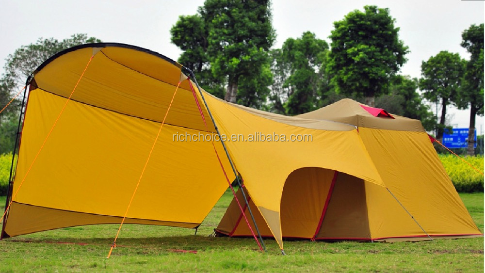 Instant Camping Tent With Dome For 8 People