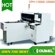 Intelligent visual system pick and place machine robot arm led mounting machine exported around the world