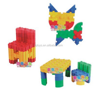 2015 new Plastic building block connector toys for kids