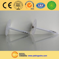 Plastic insulation nails/insulation anchor/insulation fasteners manufacture