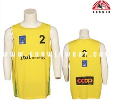 sublimation wholesale basketball clothing cheap