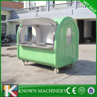 CE approve Mobile Street Catering Cart,ast food truck from China