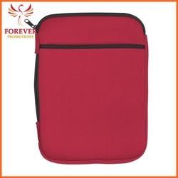 Promo Dual Jersey Cloth Material Zipper Custom Logo Table Case