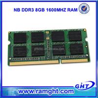 Alibaba China ETT chips ram memory DDR-3 DIMM 2*8Gb 1600MHz PC12800