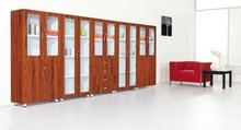 Wood file high cabinet of office furniture