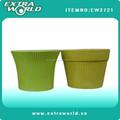 Pots de fleurs vitrage pour jardin