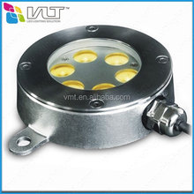 6w 18w RGB 3in1led underwater lighting for yachts