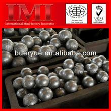 2013 Hot Sale Long Working Life and Good Material 5' metal forged grinding steel ball for sag mill