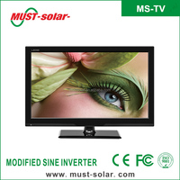 Hot SALE! high definition 15 15.4 15.6 17 19 22 24 inch Portable LCD solar TV