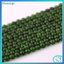 Fashion Natural Round Smooth Dyed Jade Beads