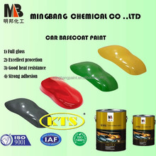 Free Sample Competitive Price 1K Basecoat Car Paint Solid Colors