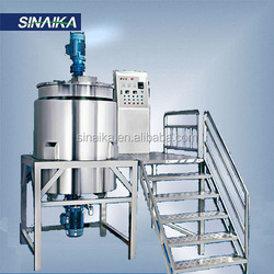 Strong acid and alkalinity mixing tank with agitator, PVC blending vessel for hair care water