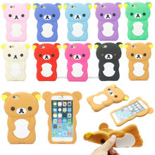 Custom Private Label animal shaped silicone phone case