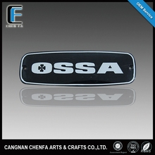 Custom outdoor acrylic chrome plating car emblem