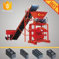 QTJ4-35 hydraform interlocking block making machine small make money to machines