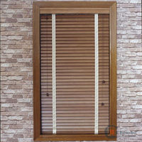 2014 decorative natural wood blind, wooden blind, wood window blind pine wood slats