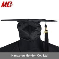 2015 Black Graduation Hat with Tassel for Adult School