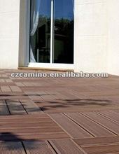 2012 new wood plastic composite wpc flooring