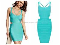 2015 cut out bandage dress wholesale