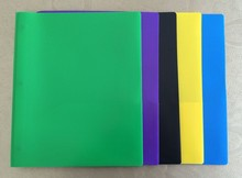 a4 poly plastic portfolio 3 prongs pocket folders 3 holes two pockets
