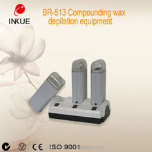 BR-513 Beauty Salon Handheld 3 in 1 wax melting equipment