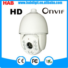 IC 8 LEDS Infrared ptz IP 1080P speed dome camera