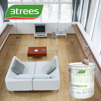 3TREES PU Ultra-clear Transparent Primer For Wood Floor