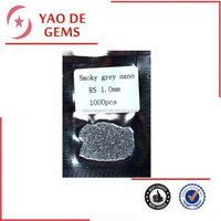 wholesale special smoky grey color Nano stone for wax setting