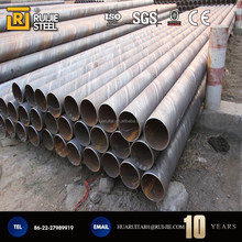 spiral steel pipe manufacturing in China
