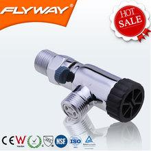 China 2014 upc regulator brass angle valve