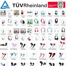 Earphones & Headphones Factory Hot Selling 2014 New Stereo Earphones Headphones