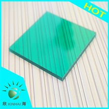 Colored sheet low cost UV protection solid polycarbonate sheet for patio cover