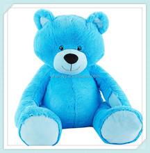 Cuddly Big Soft Stuffed Animal Plush Teddy Bear Blue