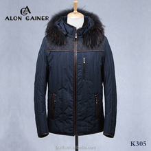 fashion men's jackets cotton-padded clothes Sheepskin winter coat outdoor jacket