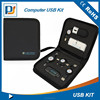 Computer Set Laptop USB Kit With Mouse USB Hub Card reader Charging Adapter and cables