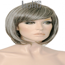2016 best selling gray hair full lace wig